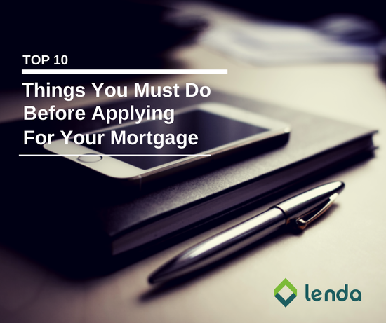 applying for your mortgage
