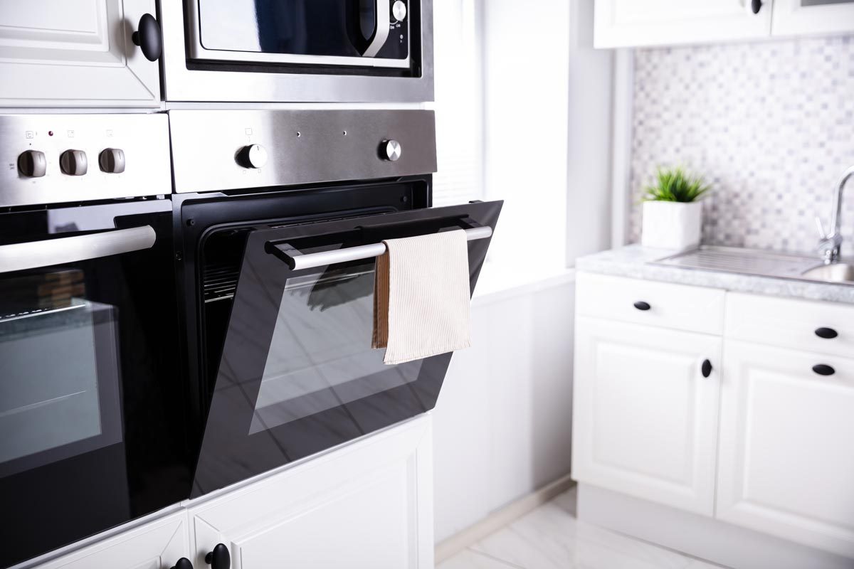 Photo of a Newly Remodeled Kitchen